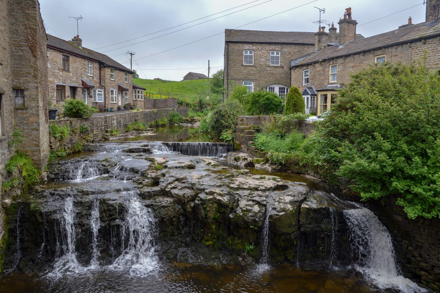 Waterfall, Hawes, North Yorkshire, UK