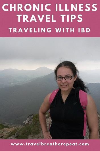 Chronic illness travel tips; tips for traveling with IBD; #traveltips #travel #chronicillness #ibd #ulcerativecolitis