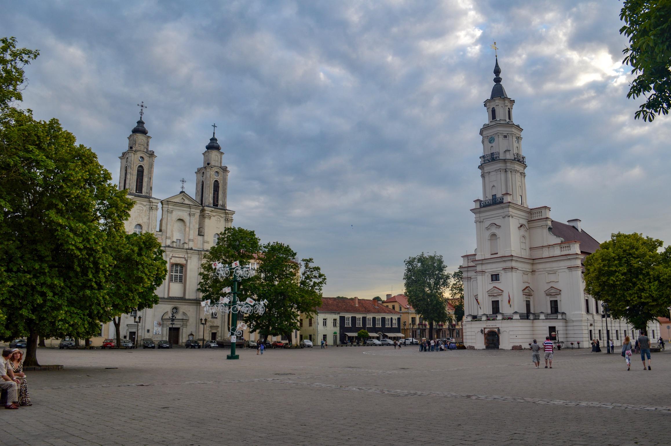 City Hall Square, Kaunas, Lithuania