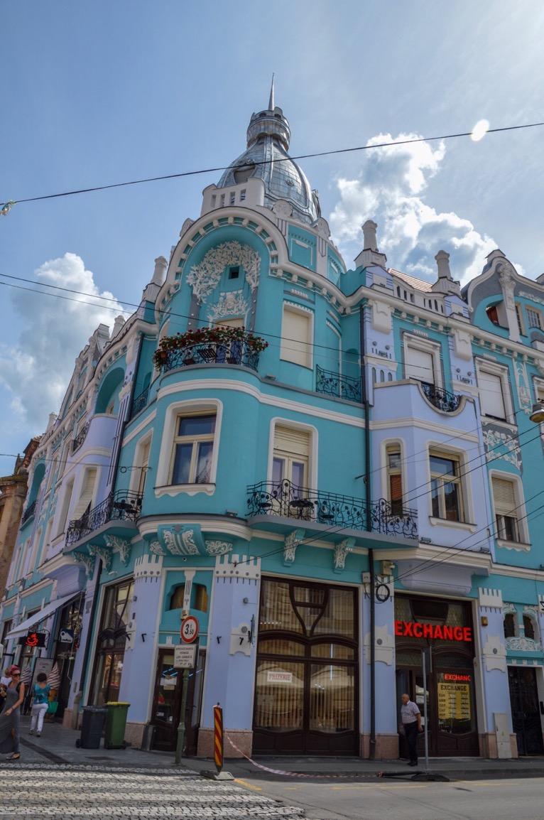 Art nouveau, Oradea, Romania
