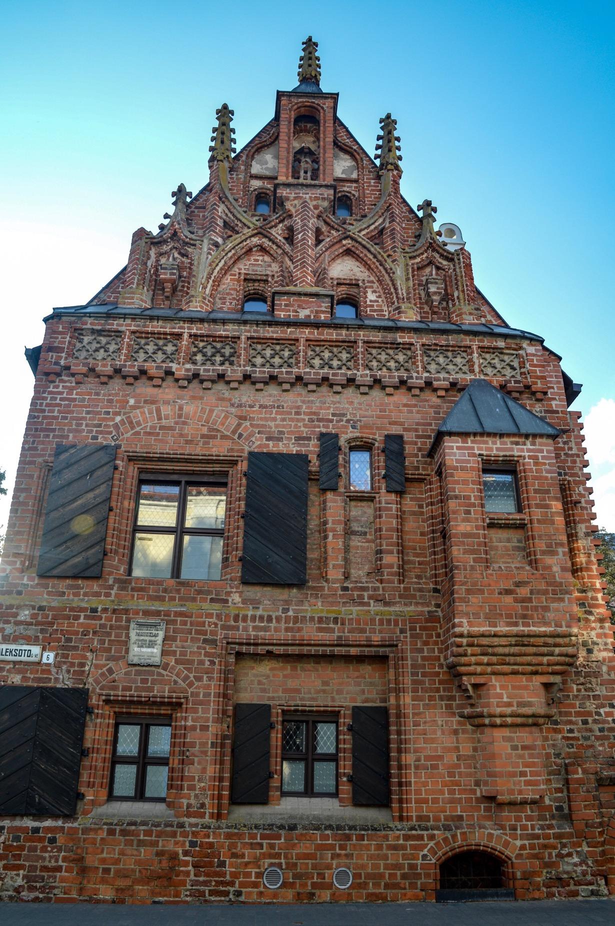 Thunder House, Kaunas, Lithuania
