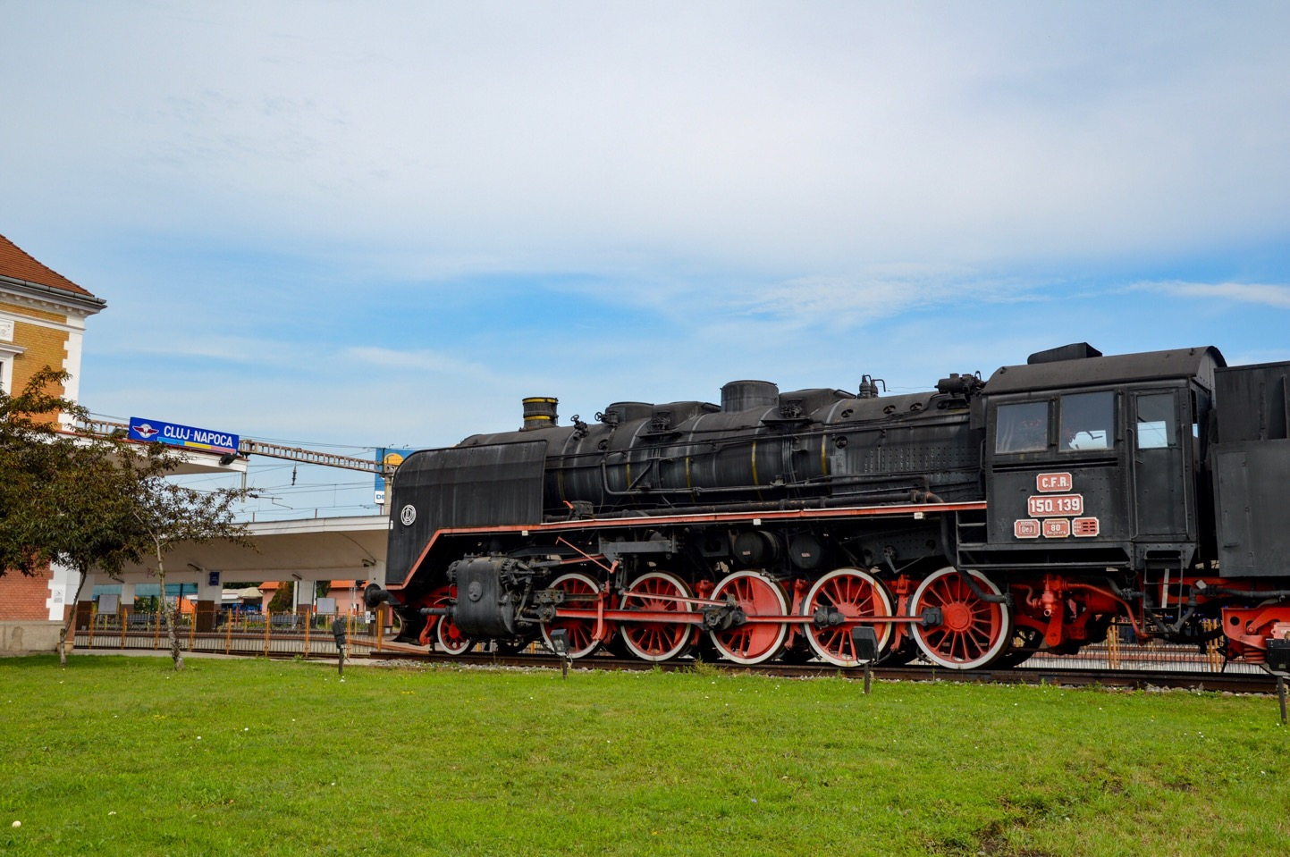 Train, Romania