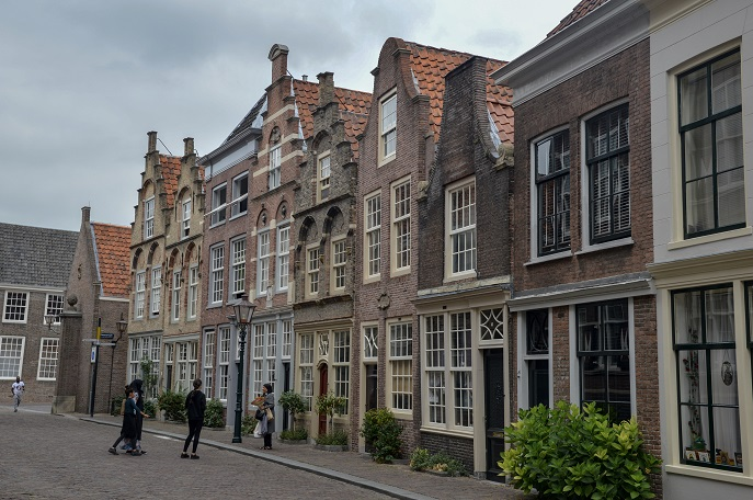 Beautiful street, Dordrecht, The Netherlands