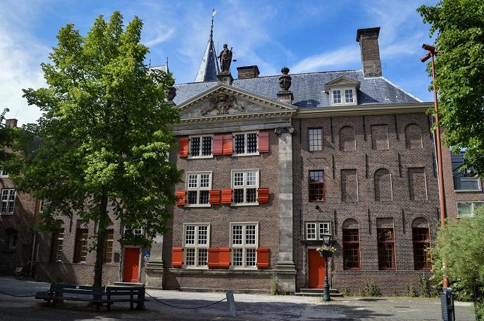 Building, Leiden, The Netherlands
