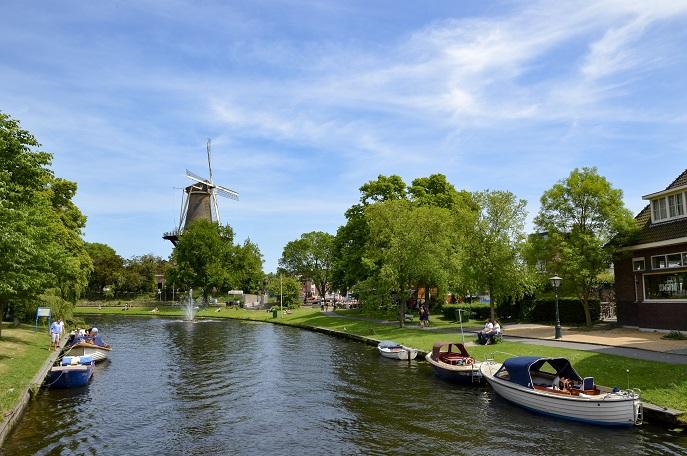 Windmill, Leiden, The Netherlands