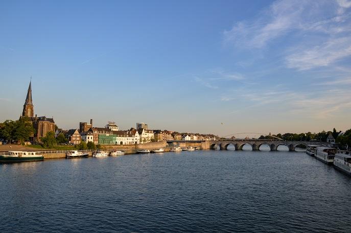 Maas River, Maastricht, The Netherlands