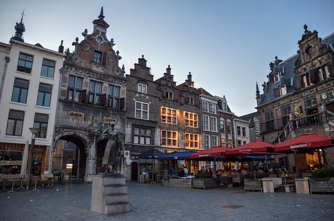 Cozy square, Nijmegen, The Netherlands