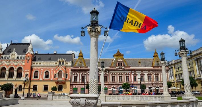Flag, Oradea, Romania