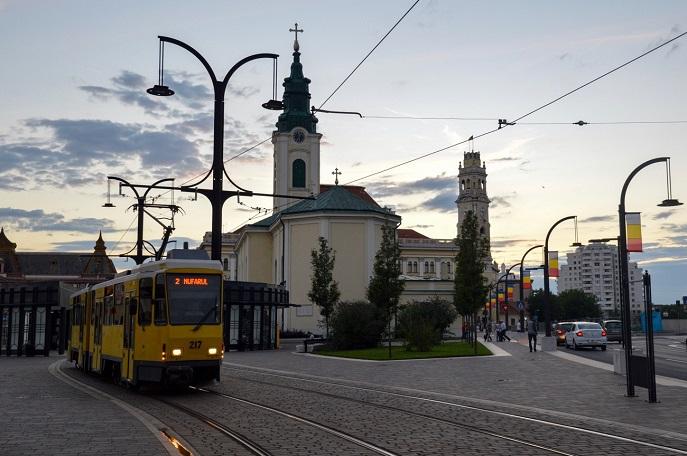 Tram, Oradea, Romania
