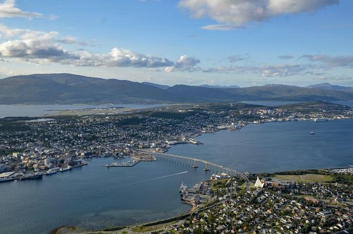 View, Mt. Floya, Tromso, Norway