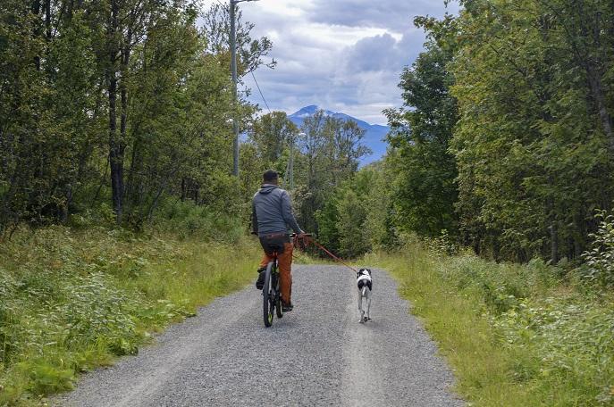 Lysloypa path, Tromso, Norway