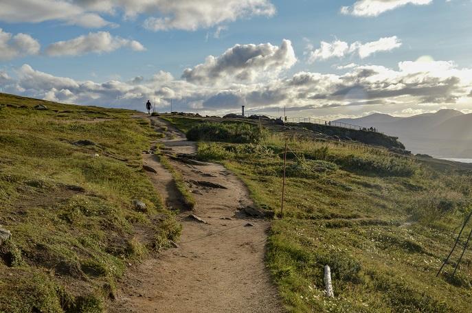 Path, Mt. Floya, Tromso, Norway