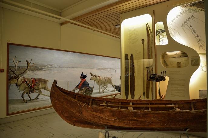 Exhibit, Tromso Museum, Norway