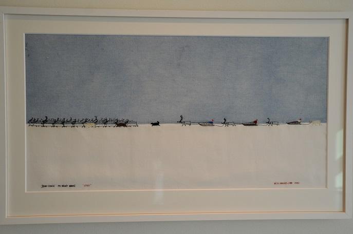 Art, Britta Marakatt-Labba at Northern Norway Art Museum, Tromso, Norway