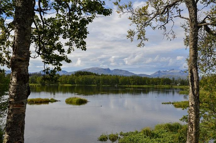 Prestvannet Lake, Tromso, Norway