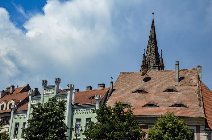 Sibiu eyes, Romania