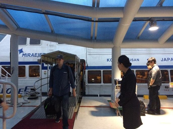 Ferry, Busan, South Korea