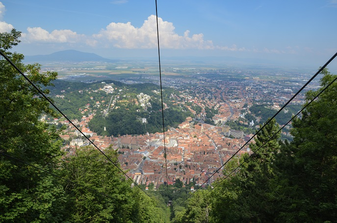 Mt. Tampa view, Brasov, Romania