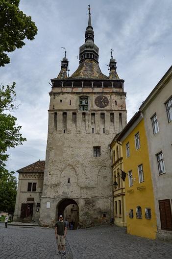 Clock Tower, Sighisoara, Romania