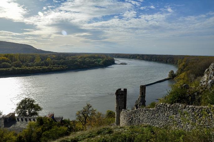 Danube River, Devin Castle, Bratislava, Slovakia