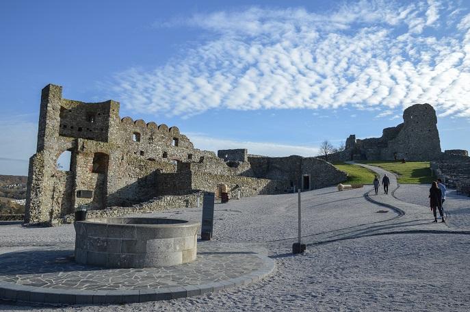 Devin Castle courtyard, Bratislava, Slovakia