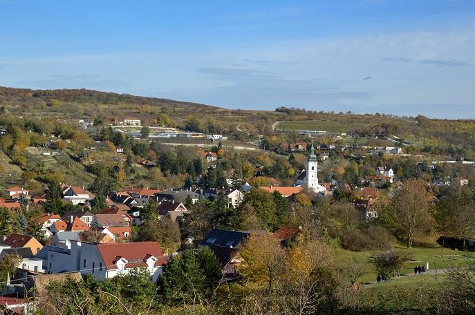 View, Devin Castle, Bratislava, Slovakia