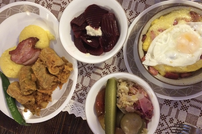 Dinner, Sergiana, Brasov, Romania