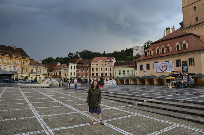 Old Town Main Square, Brasov, Romania