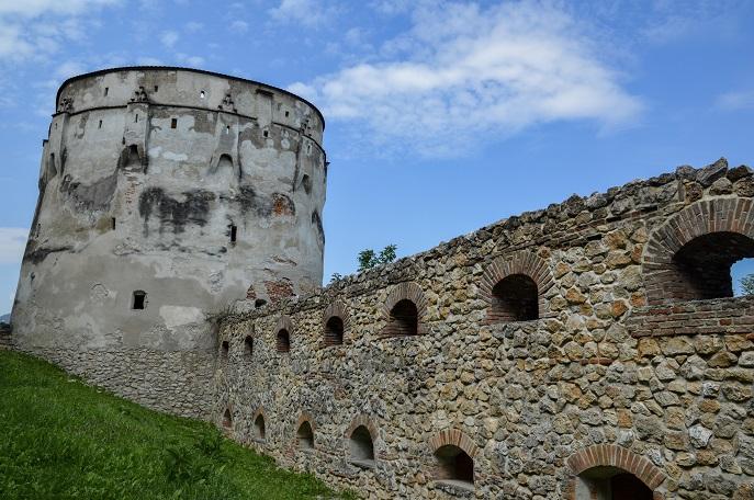 Old wall, Brasov, Romania
