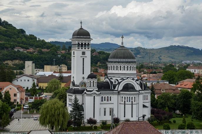Orthodox Church, Sighisoara, Romania