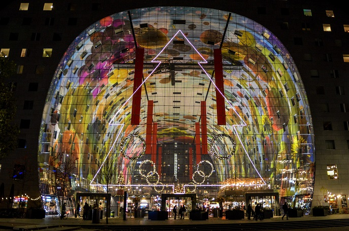 Rotterdam Markthal - free things to do in Rotterdam