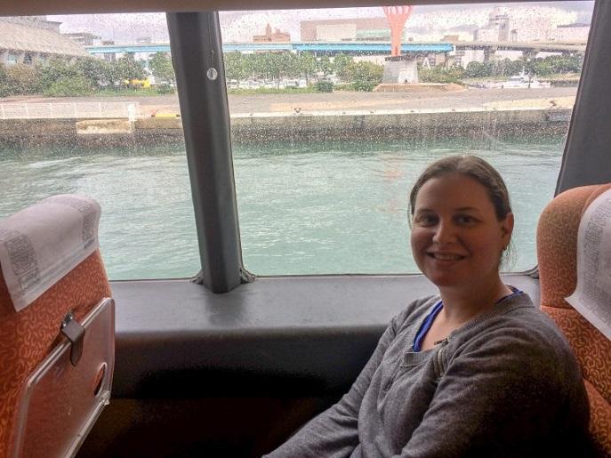Ferry from Fukuoka to Busan