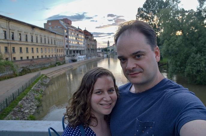 Sunset, Oradea, Romania