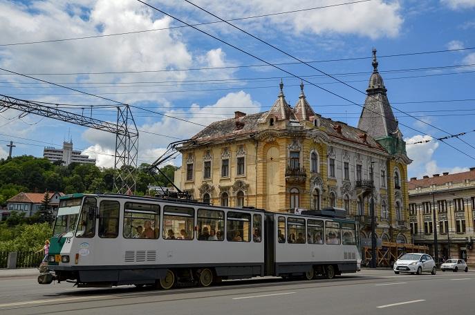 Tram, Cluj-Napoca, Romania
