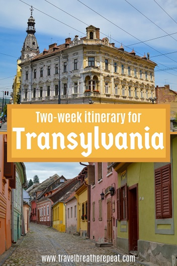 Two-week itinerary for Transylvania, Romania; things to do in Transylvania; best places to visit in Transylvania; #transylvania #romania #cluj #sibiu #brasov #sighisoara #oradea #travel
