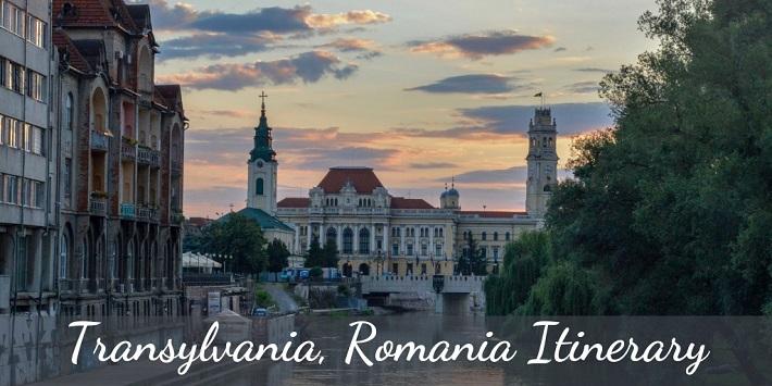 Transylvania Romania Itinerary
