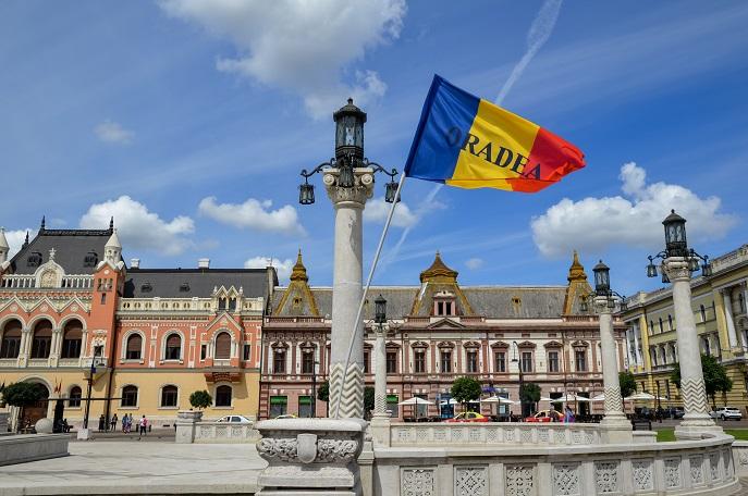Union Square, Oradea, Romania
