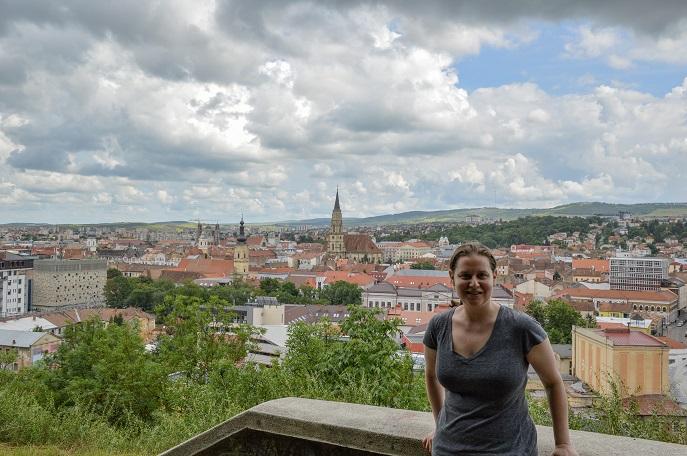 Cetatuia Hill view, Cluj, Romania