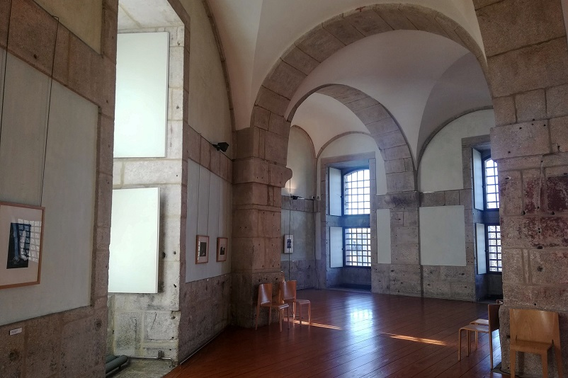 Inside the old prison that now holds the Photography Museum in Porto