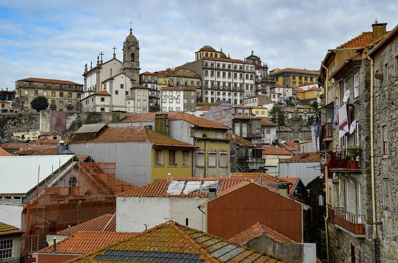 View of Porto from Igreja Sao Lourenco